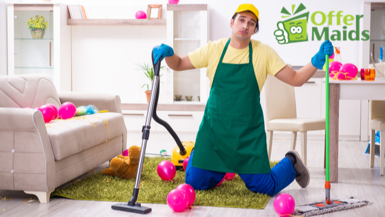 Party Cleaners in Dubai